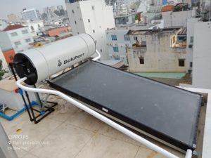 Máy nước nóng solahart sunheat 150L lắp tại Phú Nhuận