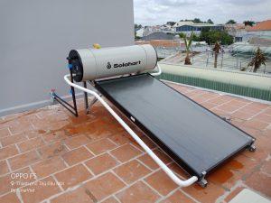 Hoàn thành máy nước nóng NLMT solahart sunheat 150L Lắp Tại TP.Thủ Dầu Một – Bình Dương.