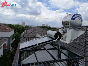 Máy Nước Nóng Dạng Tấm Solahart Sunheat 150L Lắp Tại Thành Phố Thủ Đức